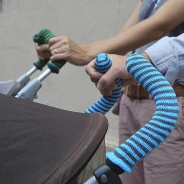BuggySocks - носочки на ручки колясок