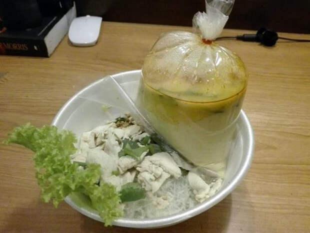 Упаковка супа. | Фото: Thue.live.