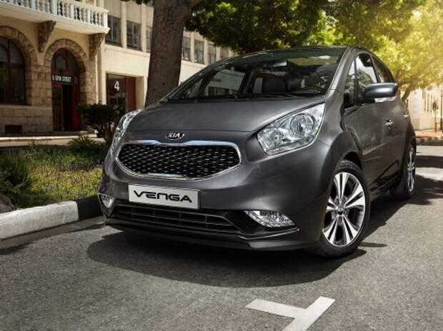 Дилеры Kia начали продажи обновленной Venga