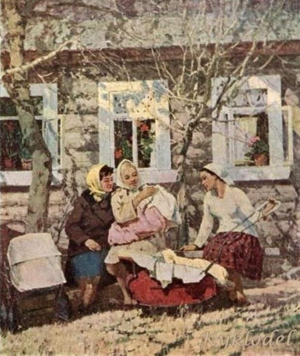 Детская коляска в России и СССР