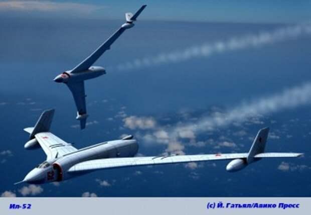 Дальний бомбардировщик Ил-52