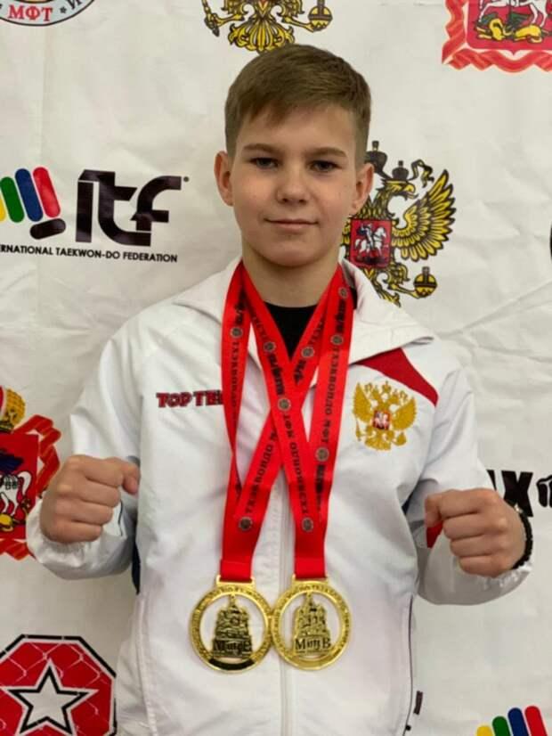 Школьник из Южного Тушина стал призёром Кубка Москвы по кикбоксингу