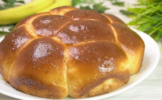 Ставим тесто только на яйцах и готовим пирог: воздушный как пух и черствеет несколько дней
