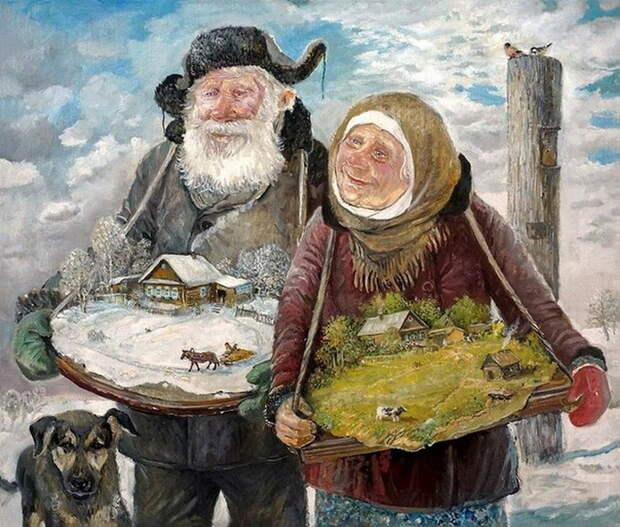 Рисунки Леонида Баранова