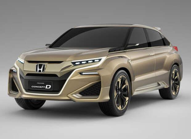 Как всегда, три буквы: Honda определилась с названием нового SUV