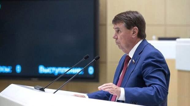 Член комитета Совета Федерации по международным делам, сенатор от крымского регионаСергей Цеков