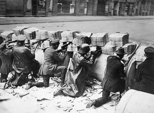 Революция в Германии. 1918-19 г.