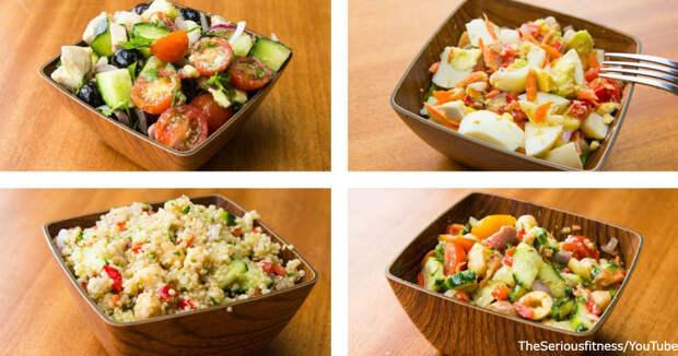 7 лучших салатов на каждый день, которые могут заменить весь обед