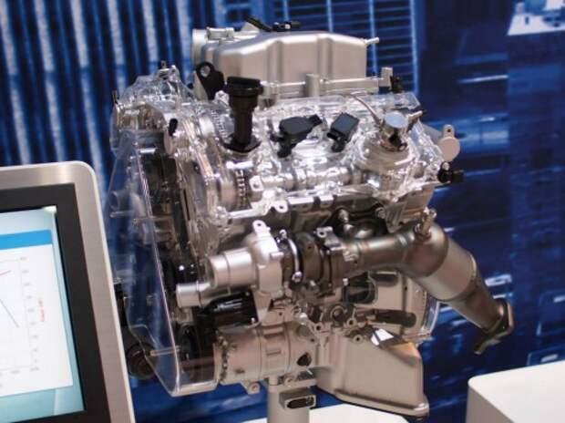 Hyundai разработала новый битурбодвигатель V6 3.3