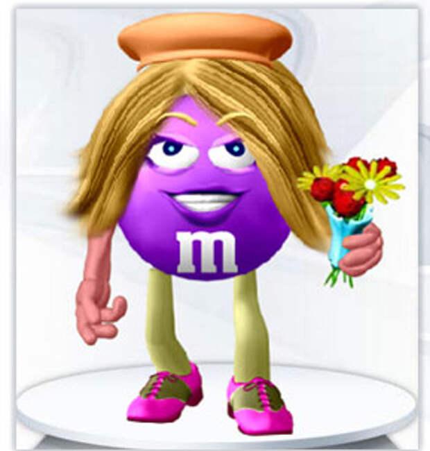 """M&M""""s как средство для самовыражения"""