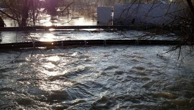 Из‑за ливней уровень воды в реках Подмосковья может подняться на 2 метра