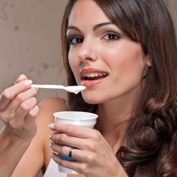 3. Йогурты и творожные десерты еда, продукты, фигура