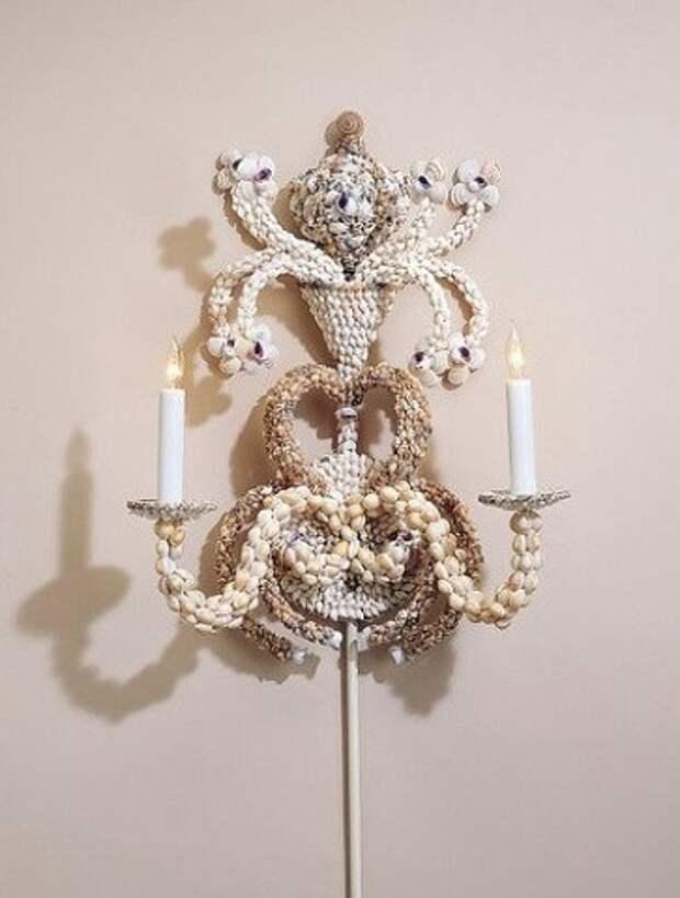Сказочный декор из ракушек