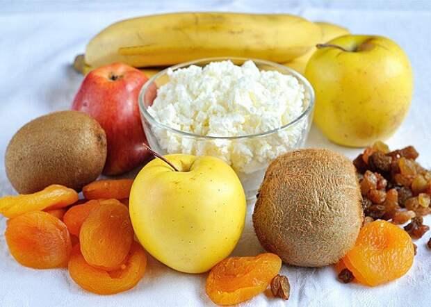 Фруктовый салат блюдо, еда, завтрак, здоровье, полезное