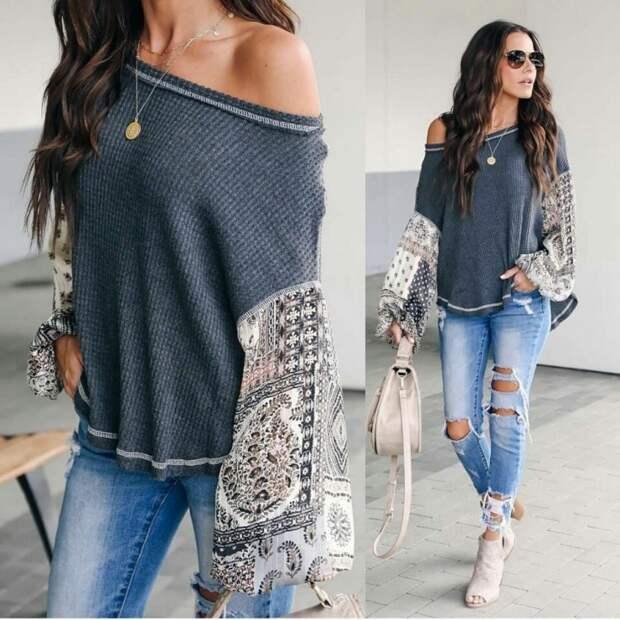 Странный свитер