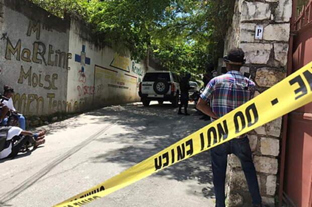 В убийстве президента Гаити могли участвовать иностранные наемники