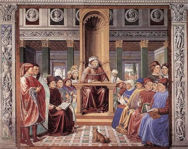 File:St Augustine Teaching in Rome .jpg