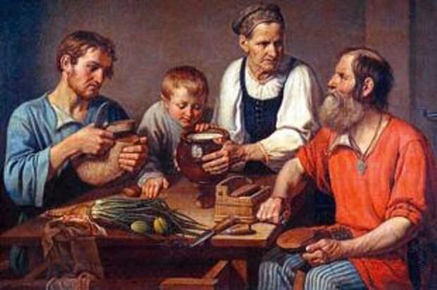 Что выращивал русский народ на огороде до появления картошки?