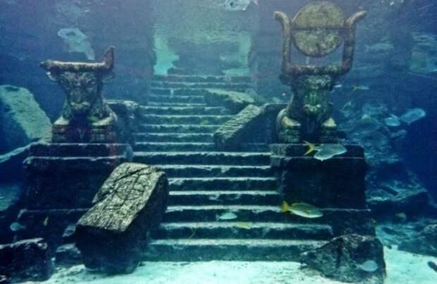 Древний город на дне моря