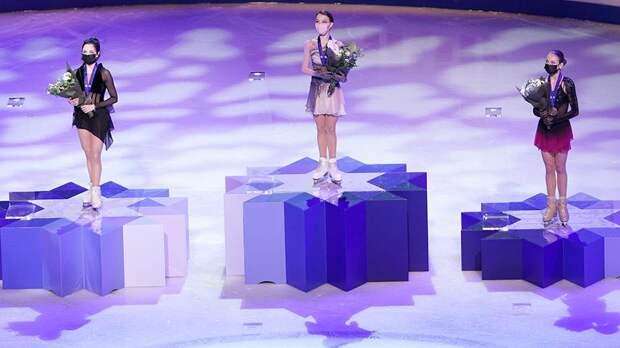 Путин поздравил российских фигуристок с победой на ЧМ в Стокгольме