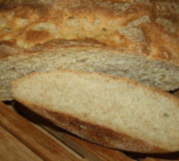 Хлеб бездрожжевой на пшенично-ржаной закваске