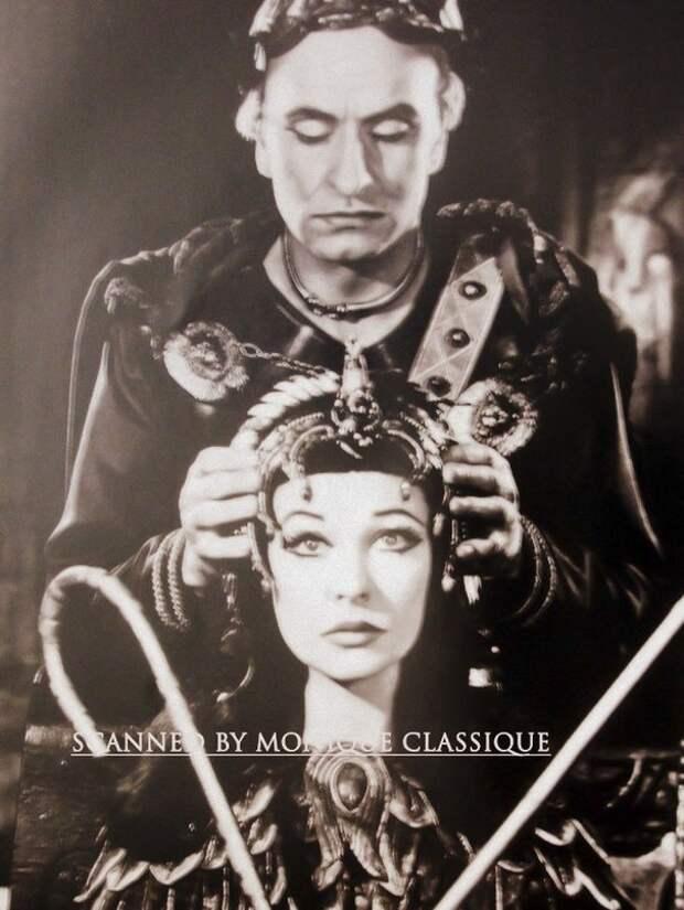 Вивьен Ли в спектакле «Антоний и Клеопатра»