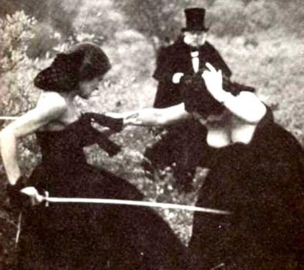 Женские дуэли: малоизвестные страницы истории (11 фото) - Тайна прошлого
