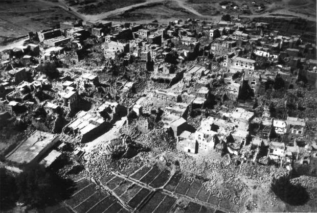 Катастрофа четвертая: землетрясение в Шэньси древность, жертвы, землетрясение, извержение вулкана, история, катастрофа