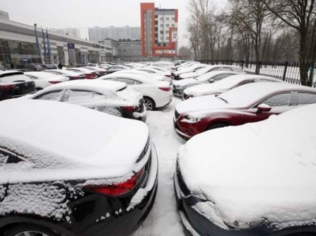 Российский авторынок рухнул в январе на 24%