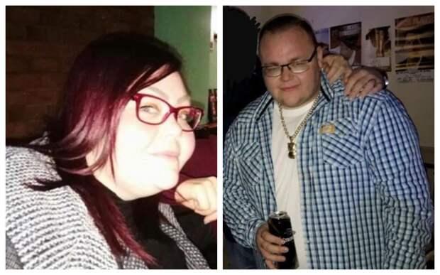 Двое из ларца: брат и сестра похудели на 247 кг за год ценой неимоверных усилий