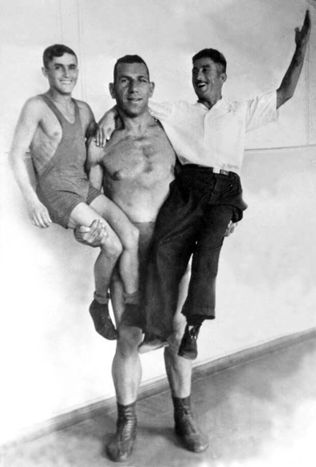 Осман Абдурахманов, легенда советского довоенного цирка.