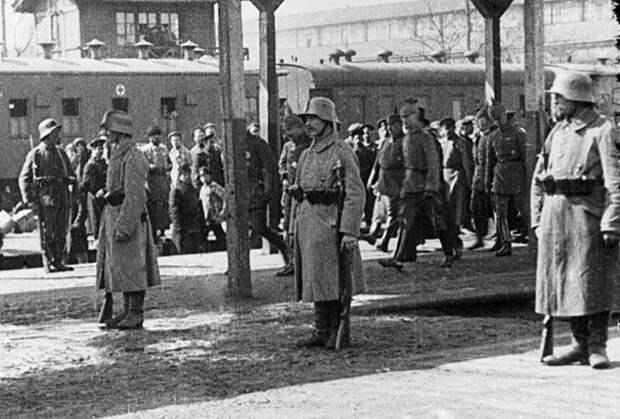 Немецкие солдаты в Киеве, 1918 год