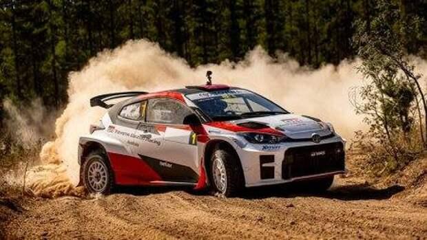 Toyota GR Yaris набирают темп (ВИДЕО)