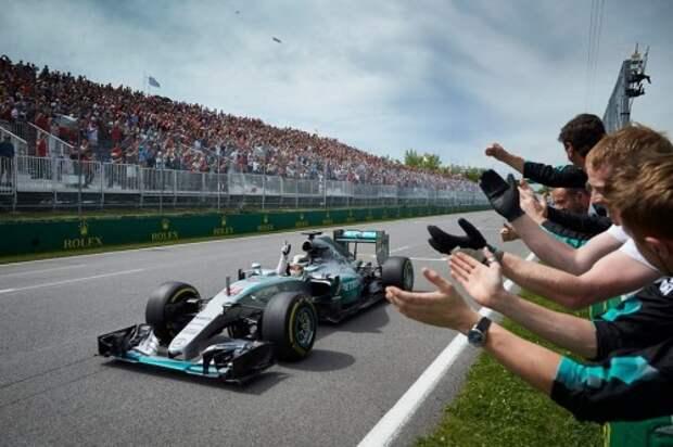 Победитель ГП Канады - Льюис Хэмилтон (Mercedes)