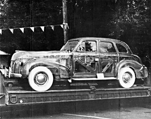 Как выглядит автомобиль-призрак Pontiaс Plexiglas 1939 года