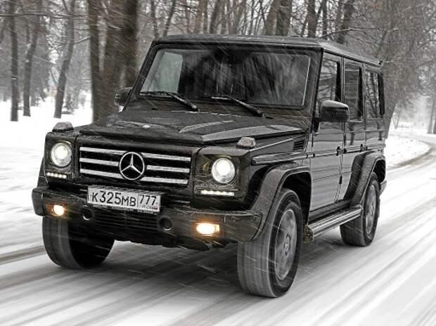 Тест Mercedes-Benz G-класса: пенсия отменяется