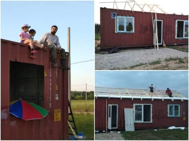 Сборкой и утеплением крыши занимались всей семьей. | Фото: pro-remont.mediasalt.ru.
