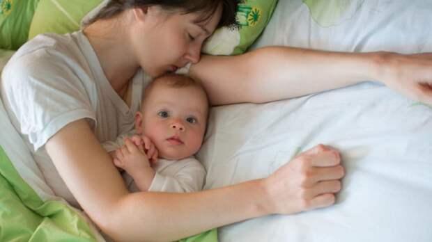 Женщина раскрыла неожиданно простой способ уложить ребенка спать
