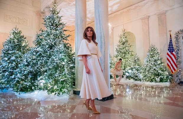 Мелания Трамп вечеринка в Белом доме