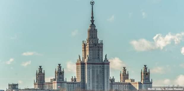 Собянин объявил о начале строительства ИНТЦ МГУ «Воробьевы горы».Фото: Ю. Иванко mos.ru
