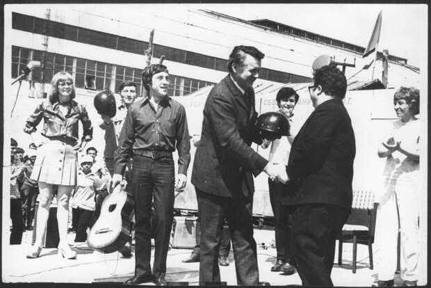 Владимир Высоцкий на «КАМАЗе»
