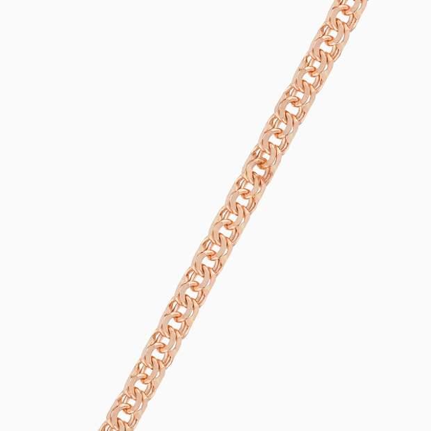 Цепочка «Бронницкий ювелир», розовое золото