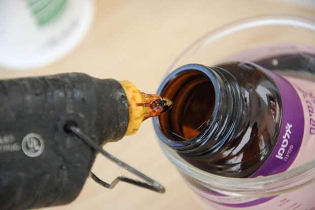 Как сделать молоток из горячего клея