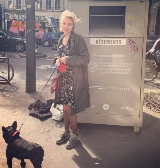 Рената Литвинова показала себя в повседневной жизни