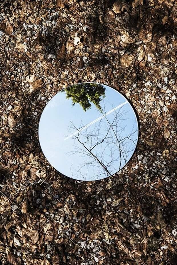 Фотоприём  с зеркалом (подборка)