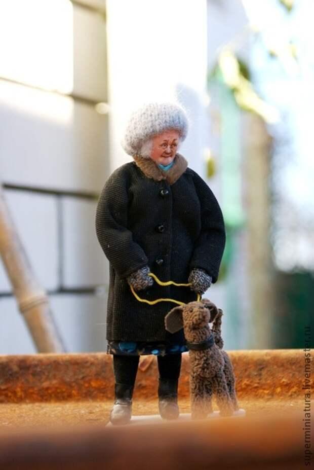 Коллекционные куклы ручной работы. Ярмарка Мастеров - ручная работа На прогулке.. Handmade.