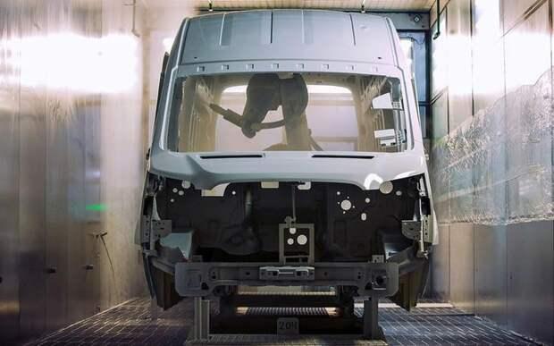 Как собирают российские Ford Transit — репортаж с завода