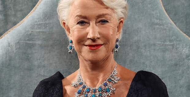 Хелен Миррен прибыла на премьеру «Екатерины Великой» в паланкине