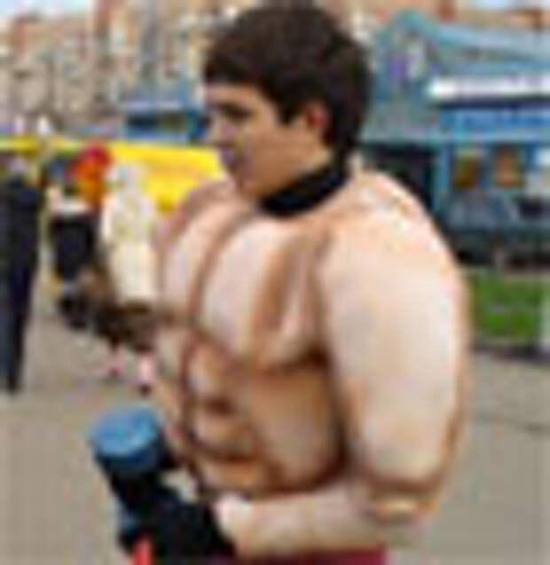 Поролоновые качки приучали петербуржцев к спорту