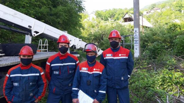 «Россети Кубань» отремонтировали 230 км ЛЭП в сочинском энергорайоне